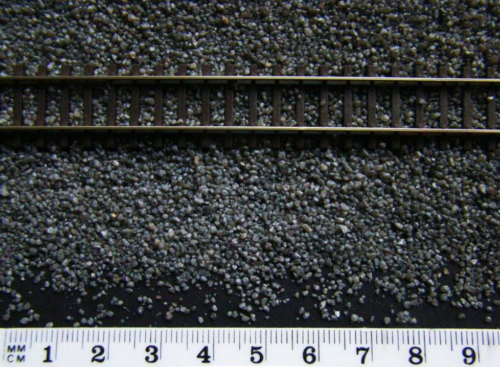 Model Railway Dark Grey Ballast N Gauge