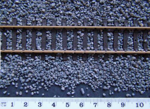 Model Railway Dark Grey Ballast OO/HO Gauge