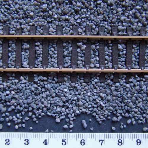 Model Railway Dark Grey Ballast OO/HO Gauge